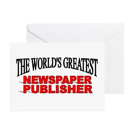 """The World's Greatest Newspaper Publisher"" Greetin"