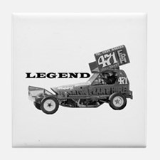 "Bobby Burns ""LEGEND"" Tile Coaster"