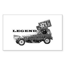 "Bobby Burns ""LEGEND"" Rectangle Decal"