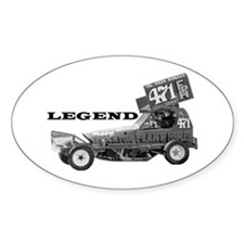 "Bobby Burns ""LEGEND"" Oval Decal"