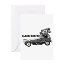 "Bobby Burns ""LEGEND"" Greeting Card"