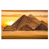 Egyptian Wrapped Canvas Art