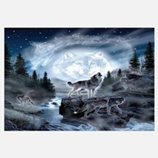 Cute Wolf Wall Art