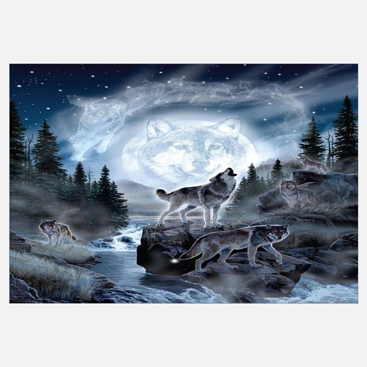 Wolf Wall Art wolf wall art | wolf wall decor
