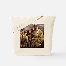Cool Native america Tote Bag