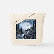 Unique Wolf Tote Bag
