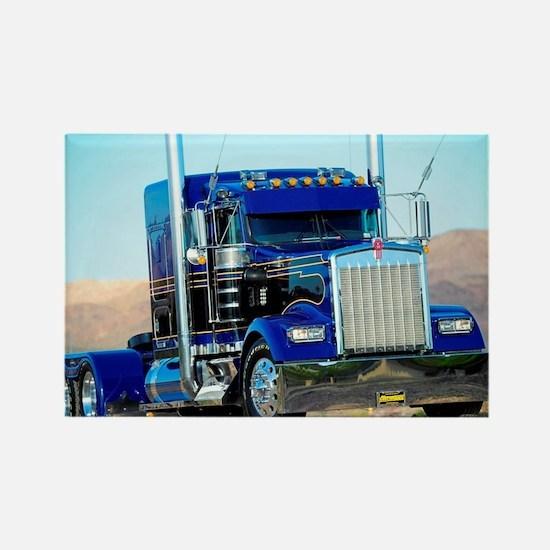 Funny Trucker Rectangle Magnet