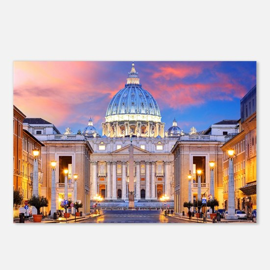 Cute Rome Postcards (Package of 8)