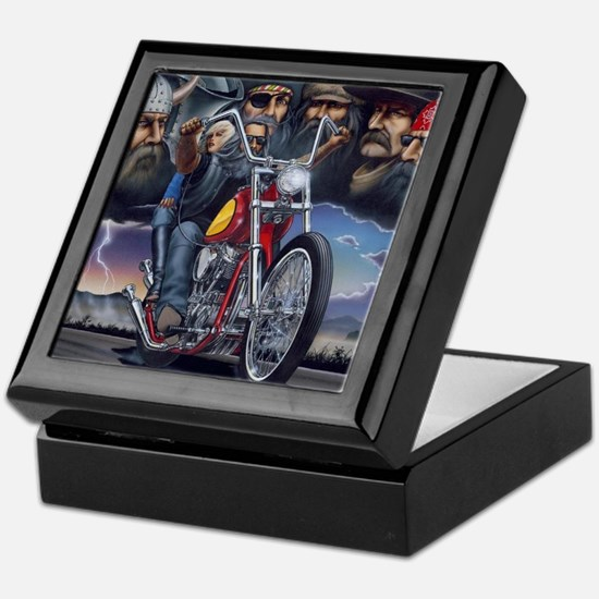 Unique Bikes Keepsake Box