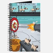 Unique Funny pug Journal