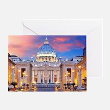 Unique Rome Greeting Card