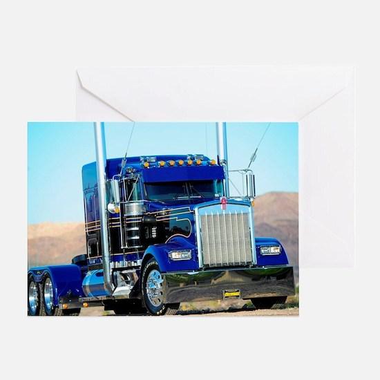 Cute Trucker Greeting Card