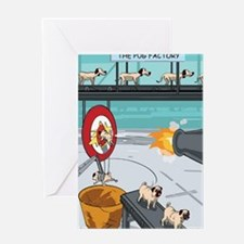 Cool Funny pug Greeting Card