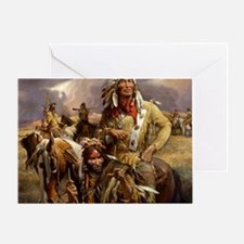 Funny Native american Greeting Card