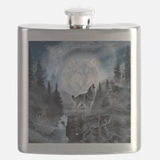 Cute Wolf Flask