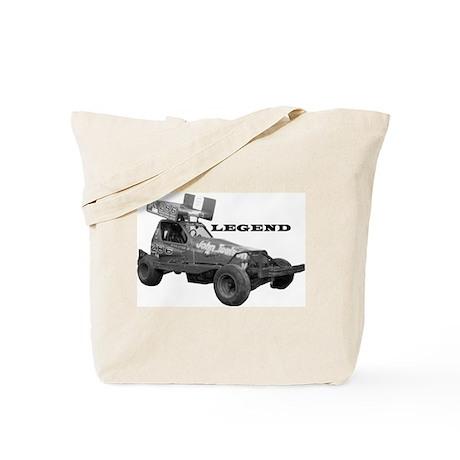 """John Toulson """"LEGEND"""" Tote Bag"""