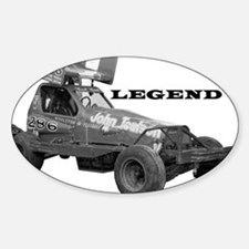 "John Toulson ""LEGEND"" Oval Decal"