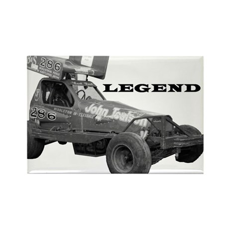 "John Toulson ""LEGEND"" Rectangle Magnet (100 pack)"