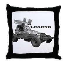 "John Toulson ""LEGEND"" Throw Pillow"