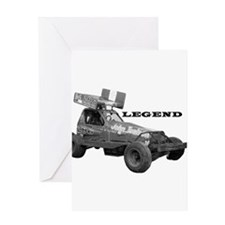 "John Toulson ""LEGEND"" Greeting Card"