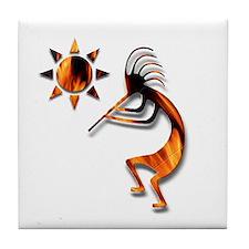 One Kokopelli #1 Tile Coaster