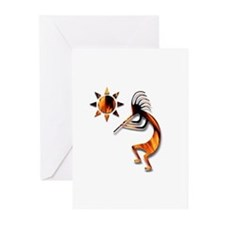 One Kokopelli #1 Greeting Cards (Pk of 20)