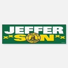 State of Jefferson - DTOM Bumper Bumper Sticker