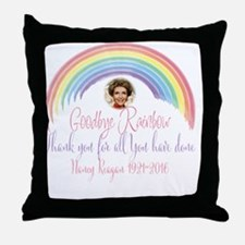 Cute I love ronald reagan Throw Pillow