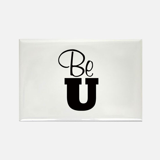 Be U - Rectangle Magnets