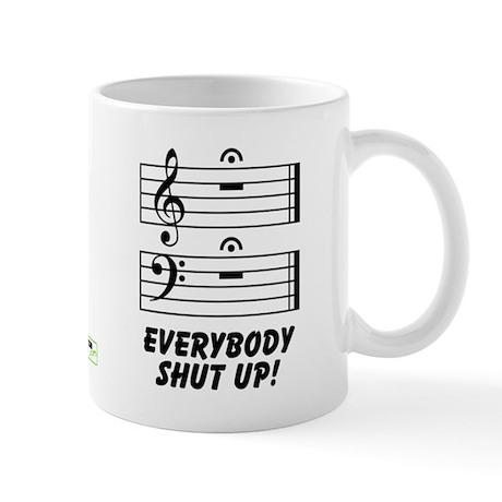 Everybody Shut Up Mug