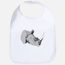 Rhinoceros 3d Bib