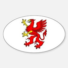 Red griffin Decal