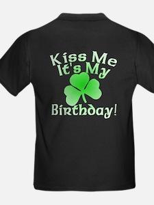 Root Beer Birthday Kiss Me T