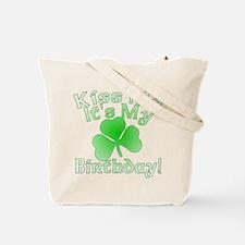 Root Beer Birthday Kiss Me Tote Bag