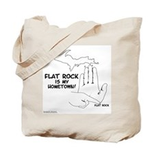 Flat Rock Tote Bag