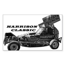 BriSCA Harrison Classic Rectangle Decal