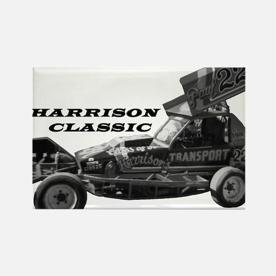 BriSCA Harrison Classic Rectangle Magnet