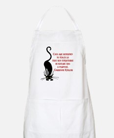 Cats Teach Us BBQ Apron