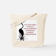 Cats Teach Us Tote Bag