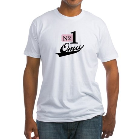 Number One Oma Fitted T-Shirt