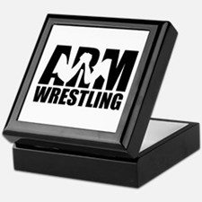 Arm wrestling Keepsake Box