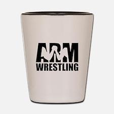 Arm wrestling Shot Glass