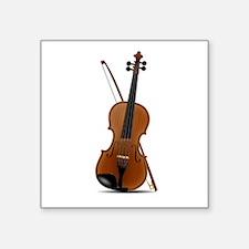 Violin Graphic Sticker