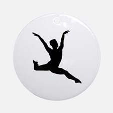 Ballet man Round Ornament