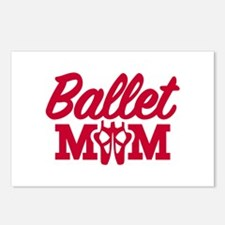 Ballet mom Postcards (Package of 8)
