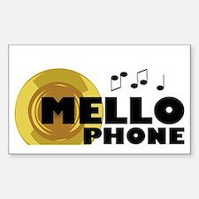 Cool Mellophone Sticker (Rectangle)