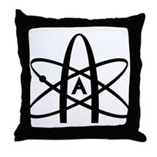 Antireligion Throw Pillow