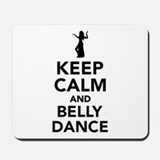 Keep calm and belly dance Mousepad