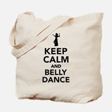 Keep calm and belly dance Tote Bag