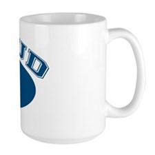 Proud Oma (blue) Mug